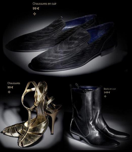 Roberto Cavalli @ H&M chaussures