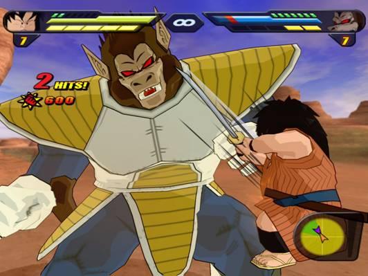Vous vous retrouverez face à des ennemis gigantesques à qui vous ne ferez pas grand mal ^^.