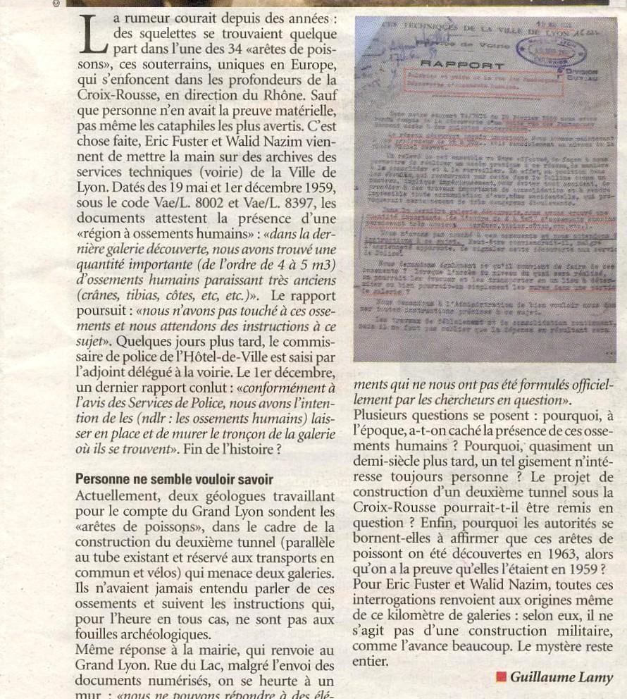 Article extrait de Lyon Capitale