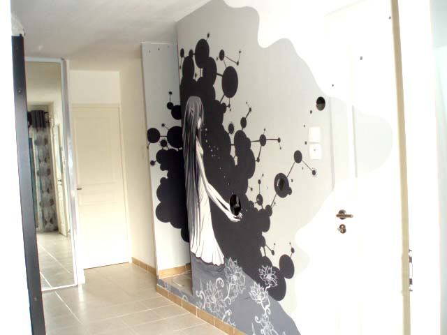 F d ration des coachs d co http federationcoachsdeco for Dessin sur mur peinture