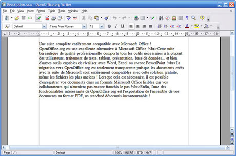 Gratuit fr - Powerpoint avec open office ...
