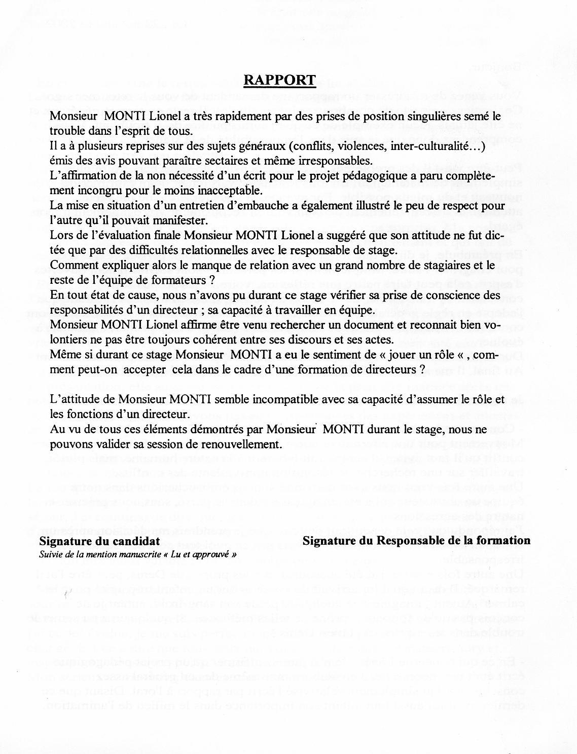 La federation leo lagrange abuse http - Rapport de stage cabinet d avocat exemple ...