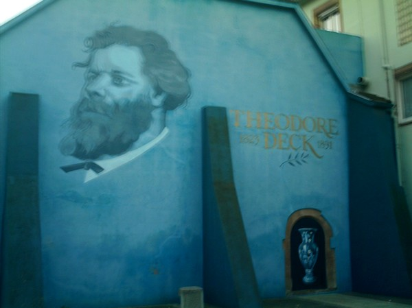Le céramiste Théodore Deck de Guebwiller dans les Vosges