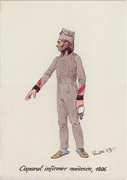 Les médecins de la Grande Armée Medecin_caporal_infirmier