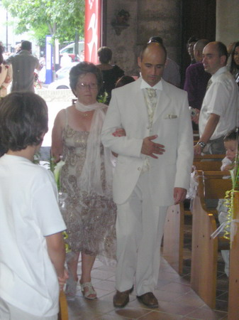 entrée des mariés église