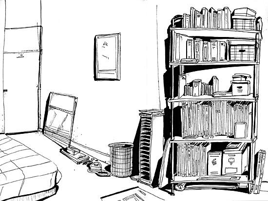 Dessin Chambre 3d ~ Idées de Design de Maison
