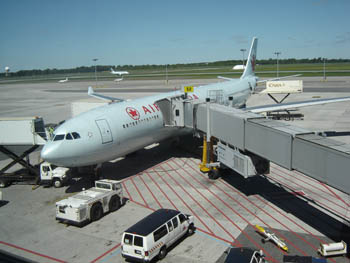 Zoc for Interieur avion air canada